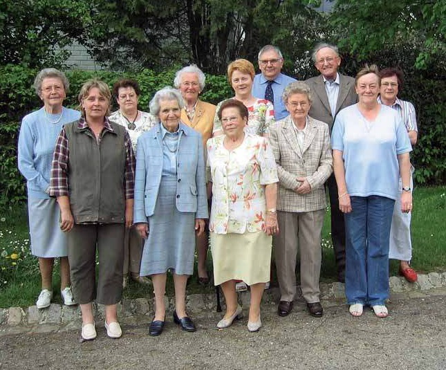 Die Gründungsmitglieder der Beeforter Senioren 2006